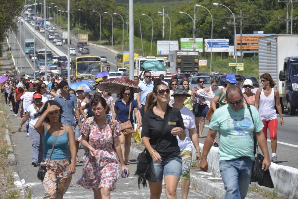 protesto Serra