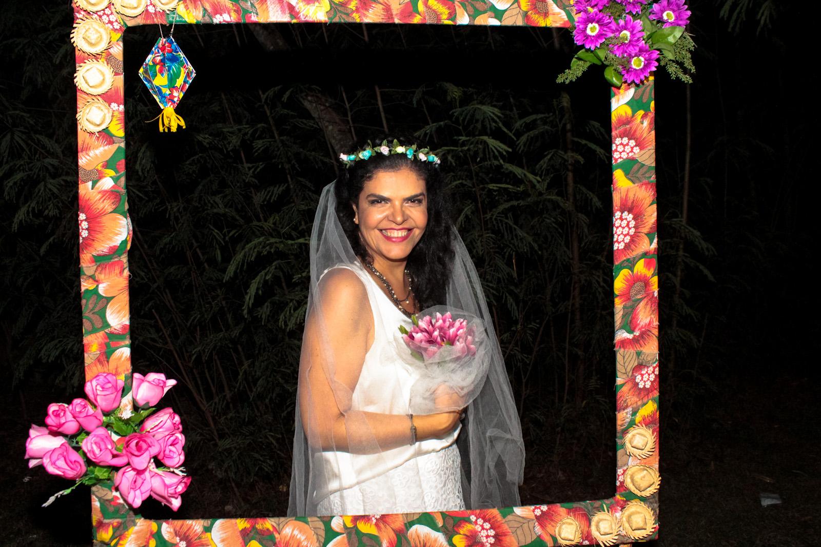 festa julina noiva