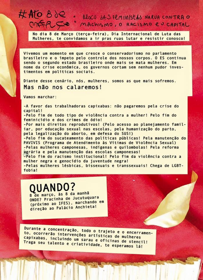 Manifesto Mulheres