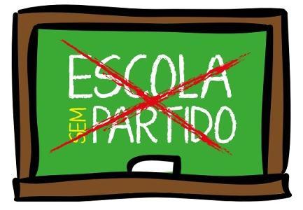 escola sem partido andes cartaz