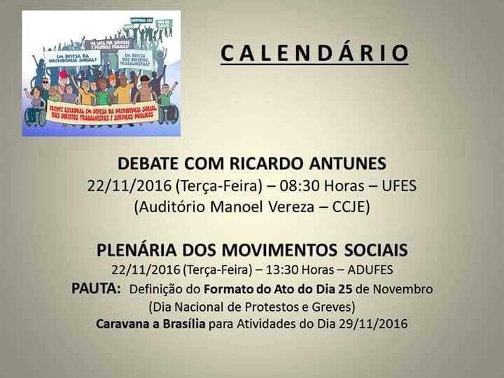 agenda antunes