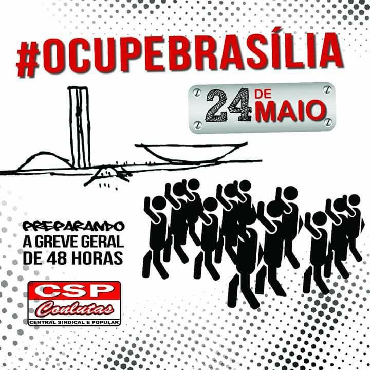 CSP ocupa Braslia