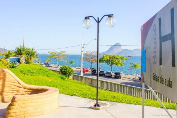 Campus da Praia Vemelha, da UFF, base do sindicato docente que organiza o 62º Conad