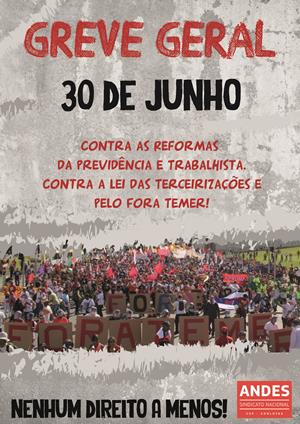 greve 30 junho andes reduz